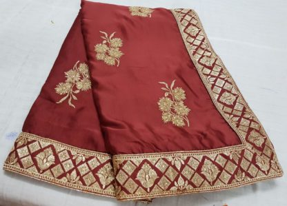 Wedding Wear Radiant Red Colored silk sarees online at Best Price in India