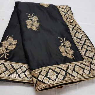 Womens Wear Demanding Black Colored silk sarees online at Best Price in India