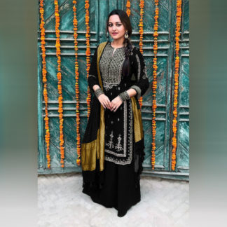 Party Wear Contemporary Sonakshi Semi Stitched Sharara Suit-MINIAB239