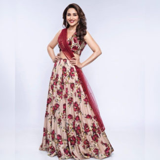Function Wear Regal Madhuri 3Layer Semi Stitched Lehenga-MINIAB303