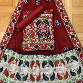 Maroon Color Mango Design Beautiful Embroidery All Over Work Designer Fashion Suits