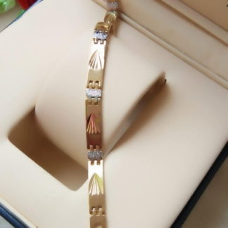 Astonishing Silver & Golden Colored Artificial Bracelet